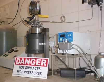PARR Hochdruck-Hochtemperatur Reaktor
